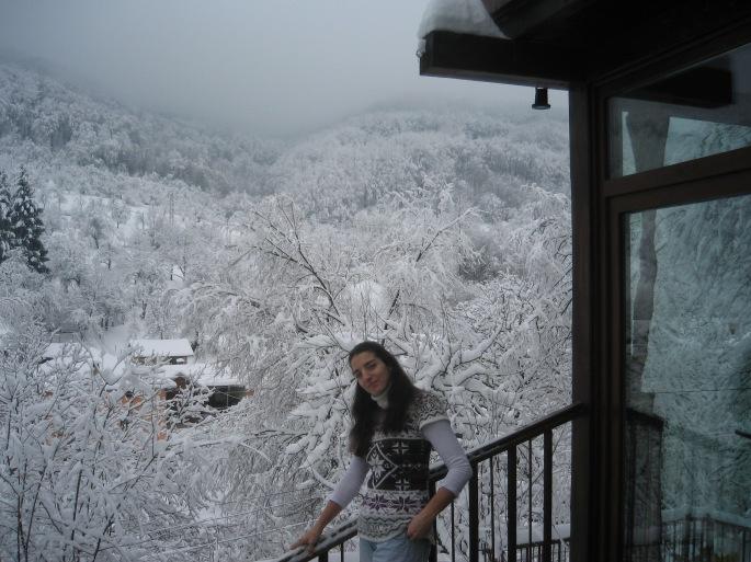 Margarita Georgieva_ Nieve en los Montes Balcanes
