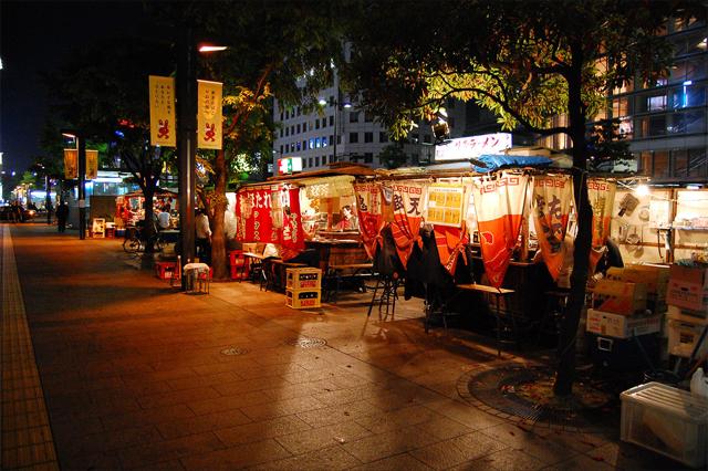 Yatai_puestos de comida callejera
