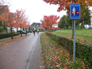 Houten ciudad de bici