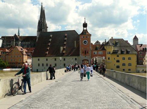 Regensburg desde Steinerne Brücke