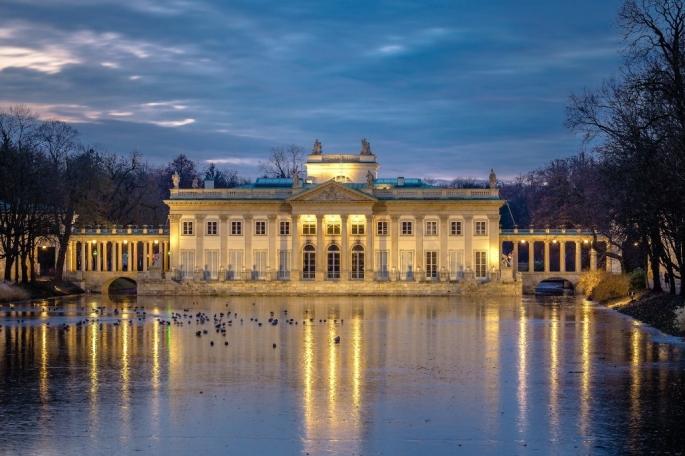 4 palacios - lazienki